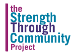 Strength Through  Community