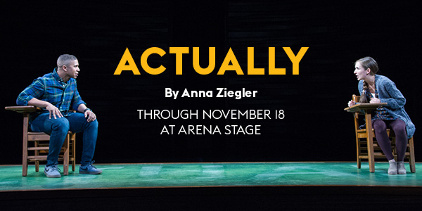 Actually by Anna Ziegler