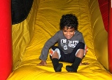 Chanukah carnival moon bounce