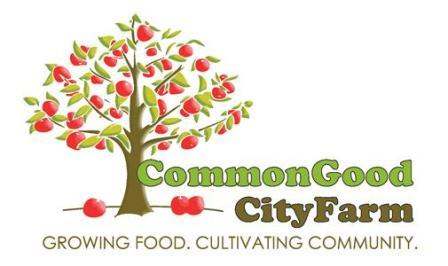 Common Good City Farm logo