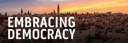 Embracing Democracy New Banner