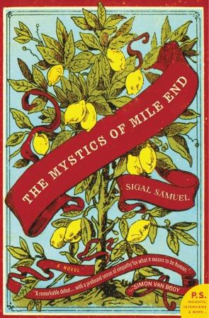 mystics of mile end book cover