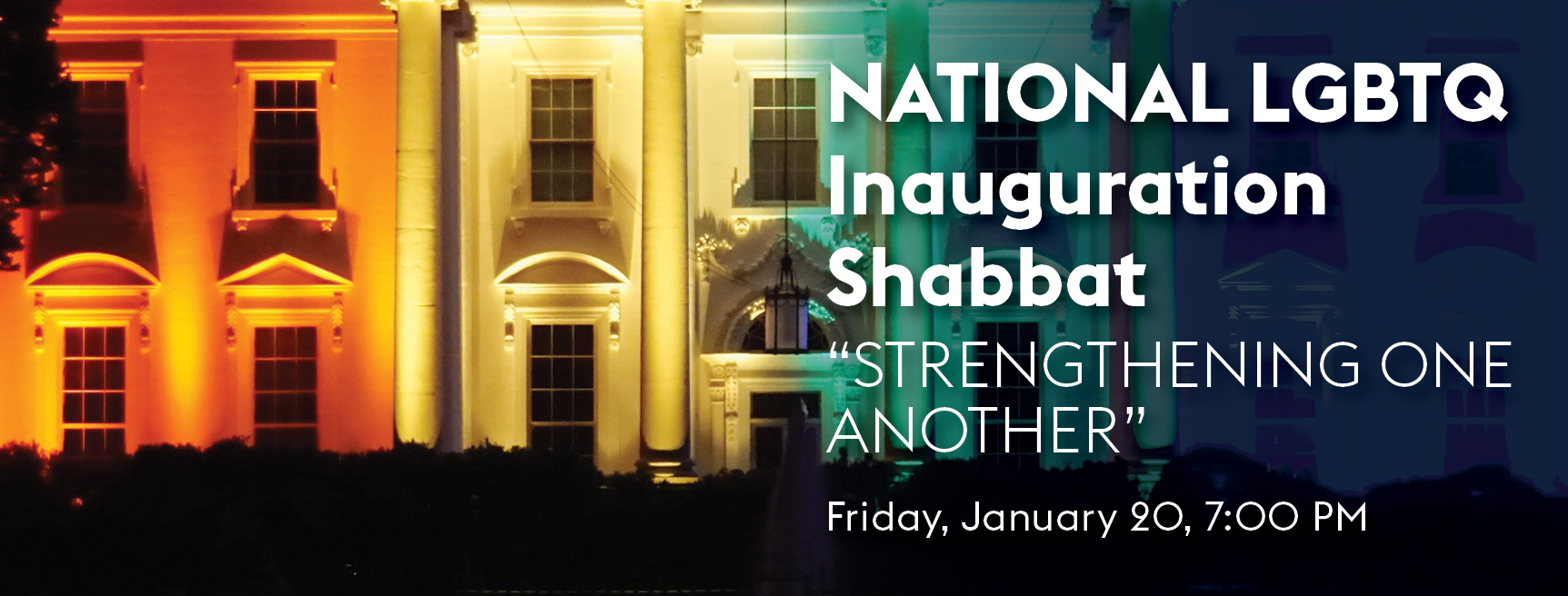 National Inauguration Shabbat 1/20/17