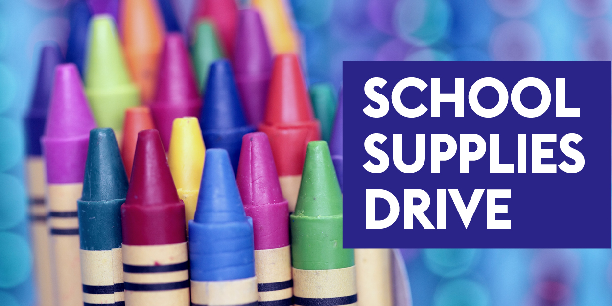 school supplies drive_convio