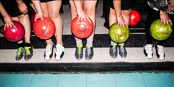 Bowling at Pinstripes