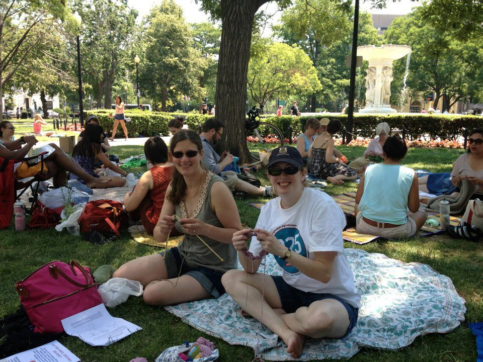 knitting in dupont