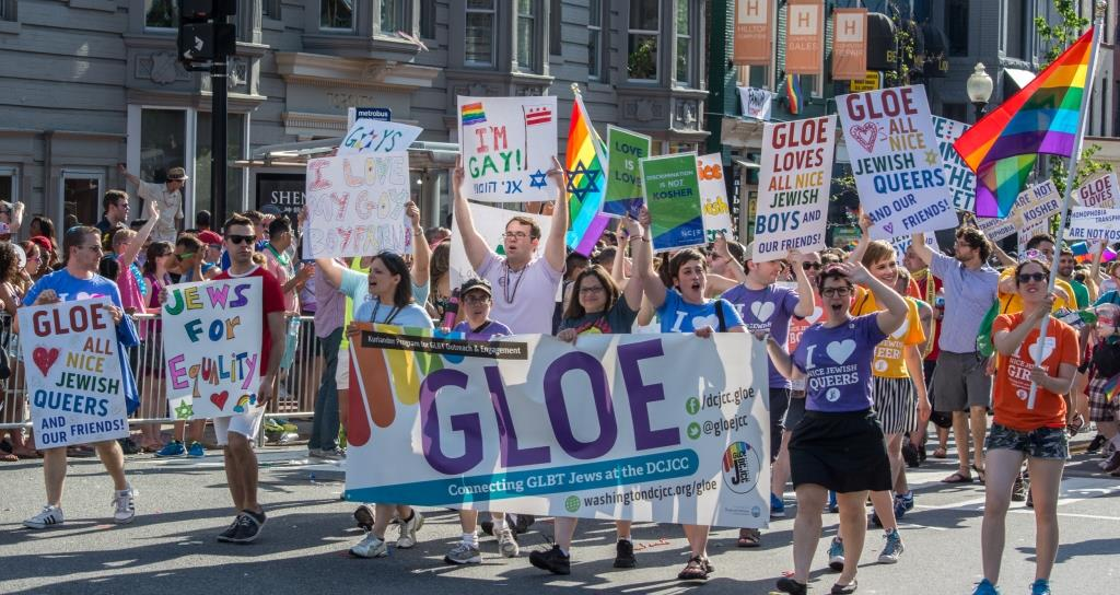 GLOE at the Capital Pride parade