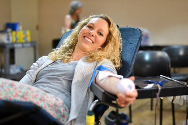 Blood Drive July 2014